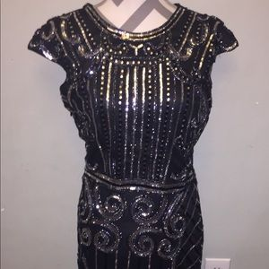 Gatsby Sequin Maxi Dress